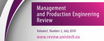 Czasopismo Management and Production Engineering Review